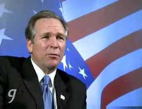 George Bush Impersonator - Feature Story