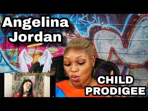 Angelina Jordan - Child PRODIGEE ♥️ sings Can't Take My Eyes Off You (REACTION)