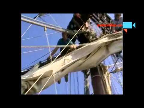 La Grace - Jarka gasketuje plachty, aneb vzhůru do ráhnoví