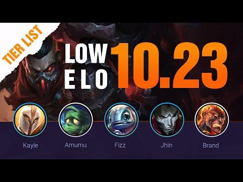 LOW ELO LoL Tier List Patch 10.23 Preseason by Mobalytics - League of Legends