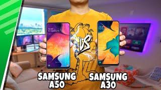 Samsung A50 VS Samsung A30 | Enfrentamiento | Top Pulso