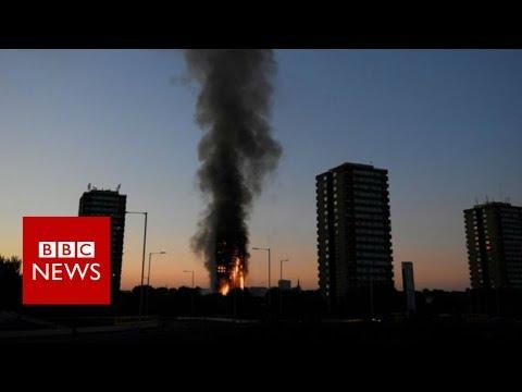 London 大火火光照亮了貧富懸殊