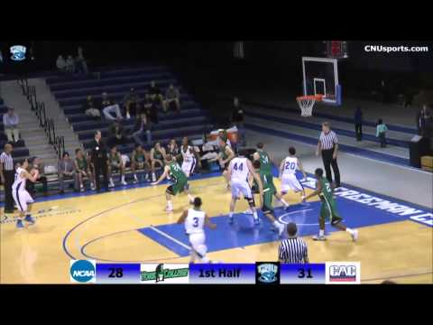 CNU Men's Basketball vs York Jan 3. Highlight