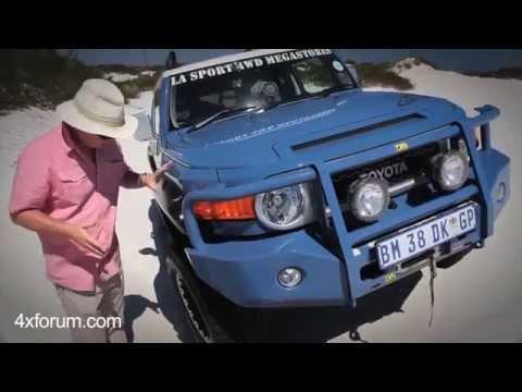 Toyota Land Cruiser FJ desert test