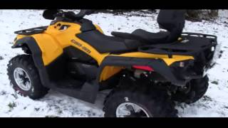 8. CanAm Outlander 500 L max DPS Can Am, Quad  ATV