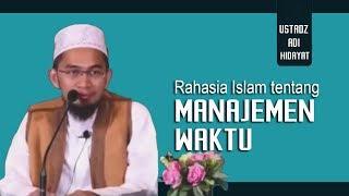 Video Rahasia Manajemen Waktu Dalam Islam    Ustadz Adi Hidayat Lc MA MP3, 3GP, MP4, WEBM, AVI, FLV Agustus 2018