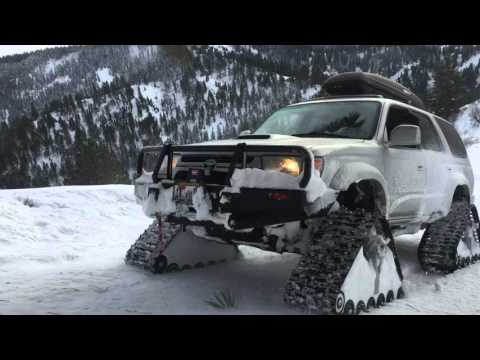 Toyota 4Runner Deep Snow