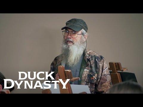 Duck Dynasty: Si Models for an Art Class (Season 8, Episode 5) | Duck Dynasty