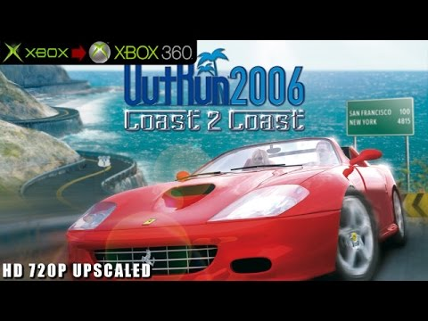 OutRun 2006: Coast 2 Coast - Gameplay Xbox HD 720P (Xbox to Xbox 360)