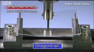 Asahi Glass demos Dragontrail, a tough glass for consumer electronics