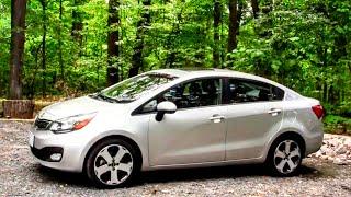 2012 Kia Rio Sedan Road Test&Review By Drivin' Ivan Katz