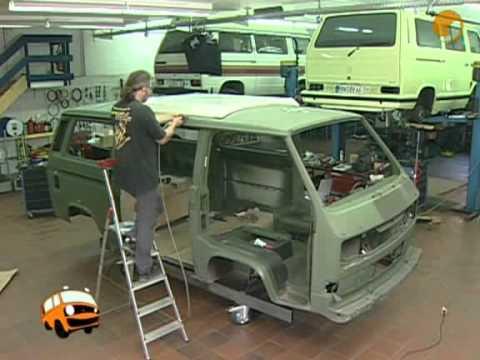 Transformación de VW T3 militar a mounstruo Syncro 3/10