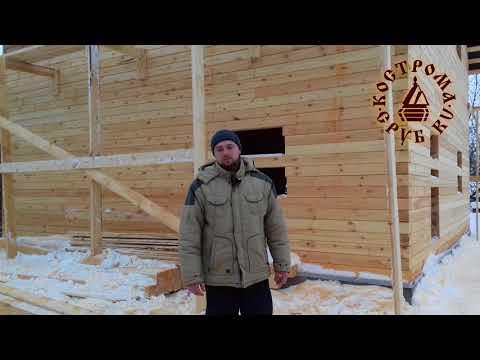 Отзыв о строительстве дома из бруса с Кострома-Сруб