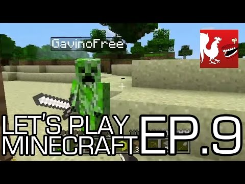 Let's Play Minecraft Part 9 - Build a Tower Part 2 Video