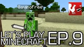Let's Play Minecraft Part 9 - Build a Tower Part 2