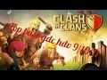 CLASH OF CLAN !!-Top base de guerre 2017 hdv 9/10/11