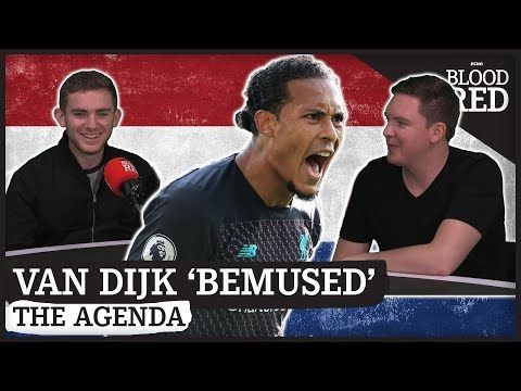 The Agenda: Virgil van Dijk 'BEMUSED' by contract talk   Ballon d'Or chances