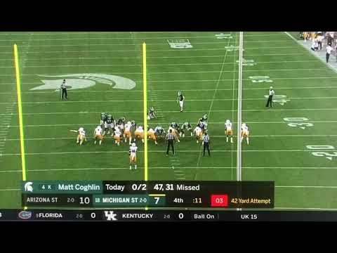 Arizona State and Michigan state final minutes.