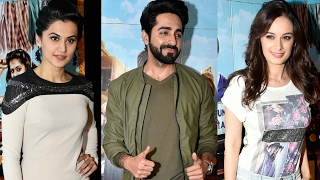 Running Shaadi Movie Special Screening | Taapsee Pannu, Ayushman Khurana, Evelyn Sharma