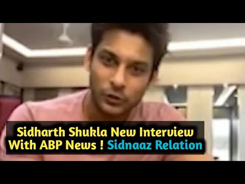 Sidharth Shukla Interview Today With ABP News ! Soon For More Update | Trending World