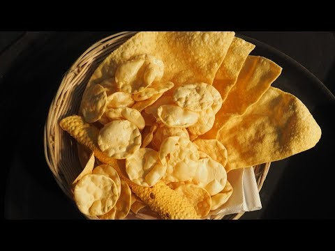 How To Cook Poppadoms Using Large Indian Karahi Indian Restaurant Cooking