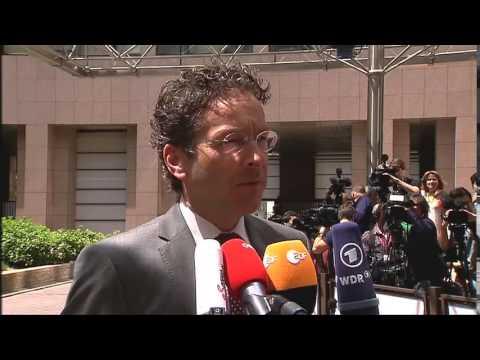 Η δήλωση του Ντέισελμπλουμ κατά την άφιξή του στο Eurogroup