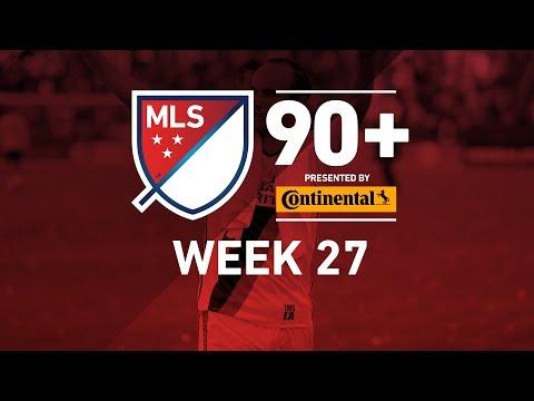 MLS Highlights:  Week 27