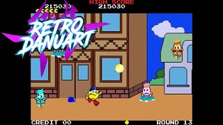 Pac-Land (Arcade Emulated / M.A.M.E.) by RetroDanuart