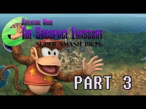 preview-Gaming with the Kwings - SSBB The Subspace Emissary part 3 co-op (Kwings)