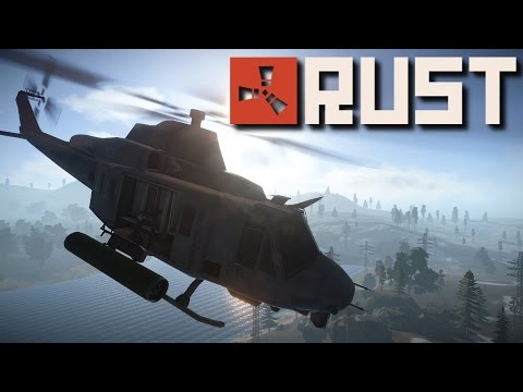 Rust Tips 'n Tricks | How to Solo the Attack Helicopter! (Old)
