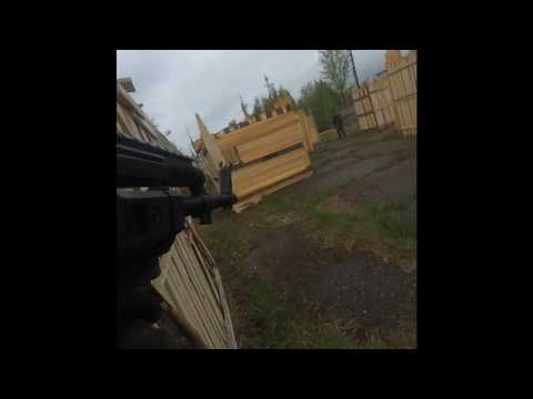 Resident GaMe 21/05/17 airsoft game play 4*4