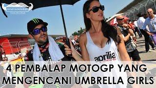Video GILE LO NDRO!!! 4 Pembalap MotoGp yang Mengencani Umbrella Girls MP3, 3GP, MP4, WEBM, AVI, FLV September 2017
