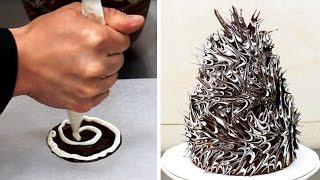 Most Dangerous Chocolate Cake - CHOCOLATE HACKS by CakesStepbyStep