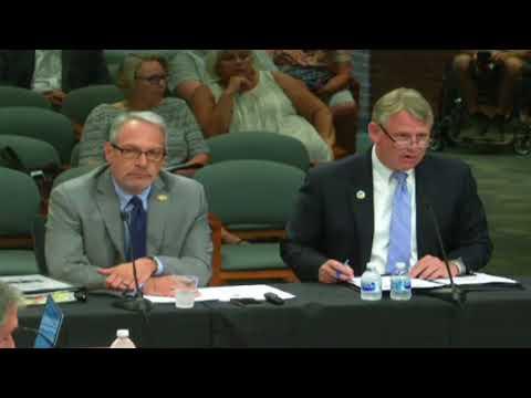 Ellicott City Flood Mitigation Plan Presentation to County Council, September 4, 2018