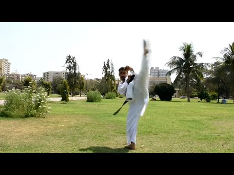 How To Improve Wheel Kick Or 360 Kick | Karate Tutorials