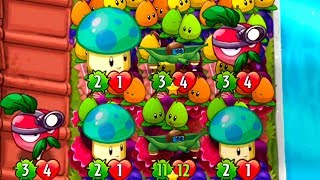 Plants vs Zombies Heroes Puzzle Party Pod Fighter