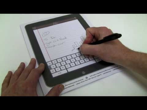 pad - Order an iPad Note-Pad for $9.99 or print a page for free at http://techrestore.com/pad This functional, iPad notepad features the popular Notes application ...