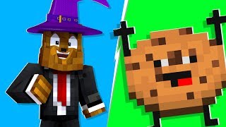 Minecraft - I Became A WIZARD In Cookie Camp | JeromeASF