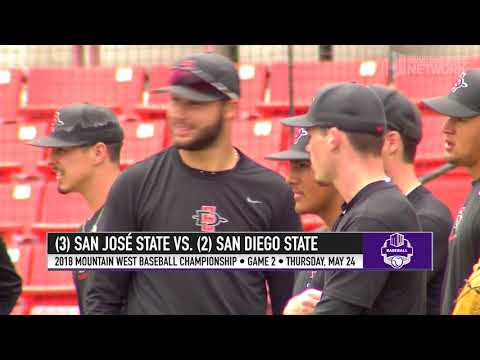 2018 Mountain West Baseball Championship Swings Into Action (видео)