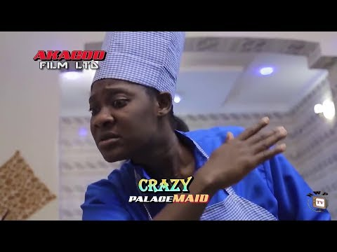 New Movie Alert 'CRAZY PALACE MAID' Mercy Johnson 2020 Latest Nigerian Nollywood Movie