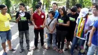 Cô Bạn đạp Xe Xuyên Việt ủng Hộ LGBT
