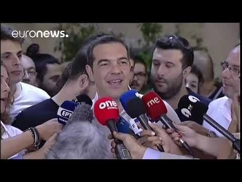 Εκλογές 2019: Δηλώσεις του Αλέξη Τσίπρα μετά την άσκηση του εκλογικού του δικαιώματος