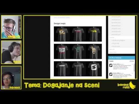 Banana Rush Ep. 5 - Pogovorna oddaja na temo Counter Strike - SPID.si