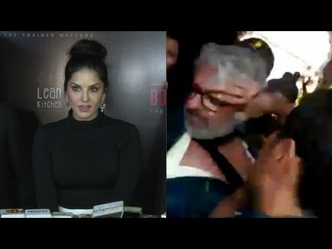 Sunny Leone's Reaction On Misbehave With Sanjay Leela Bhansali On The Sets Of Padmavati