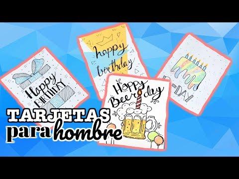 Tarjetas de amor - Tarjetas de Cumpleaños SUPER FACILES para mi novio  mejor amigo  Brenda PE