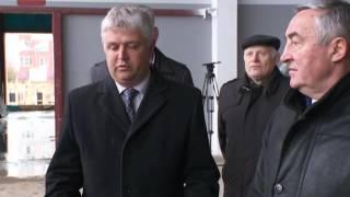 Губернатор Сергей Митин  проинспектировал сегодня ход строительства спортивного центра