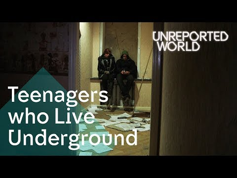 Ukraine's teens living underground to stay alive | Unreported World (2012)