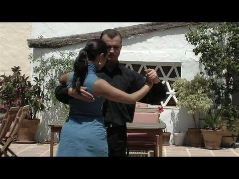 Социальные танцы: Аргентинское танго. Видео урок.
