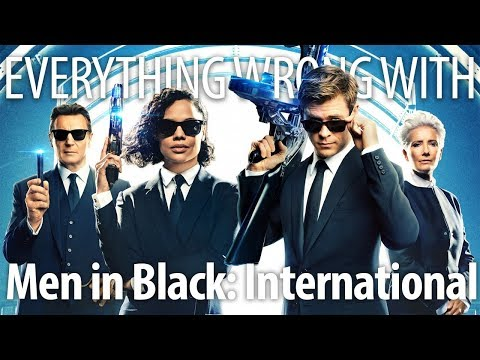 Everything Wrong With Men in Black: International In Flashy Thing Minutes