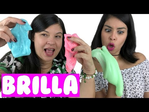 SLIME QUE BRILLA EN LA OSCURIDAD ✨ | Elmer's Glow-in-the-Dark Glue Review